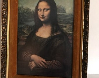 Leonardo da Vinci  Mona Lisa Painting Photo Print 1500's