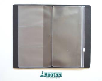 Zipper pocket for you traveler's notebook Regular - zipper case -