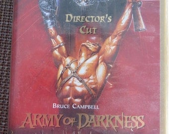 Army Of Darkness VHS Horror Special Edition Directors CUT