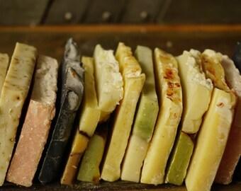 Handmade Soap Samples | Soap Sampler, Soap Ends, Soap Sampler Set, Soap Samples, Bulk Soap, Natural Soap