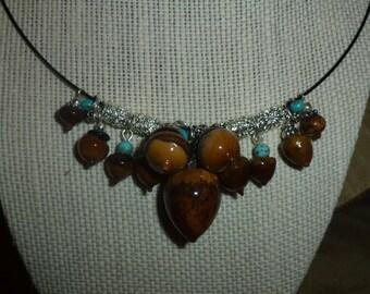 Acorn Necklace #304