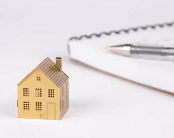 Mini house - Brass model kit
