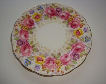 LOT OF 3 Royal Albert SERENA Salad Plates