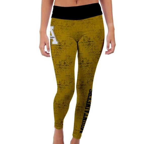 Appalachian State Mountaineers Yoga Pants Designs