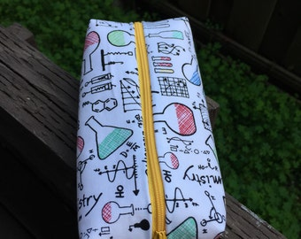 Sciencey pencil pouch