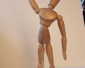 Wooden artist model