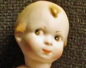 Small baby repro doll, ca, 12,5 cm (38)