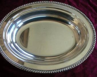 Empress Vintage Oval Serving Plate