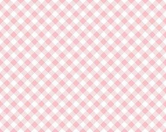 Riley Blake Designs Wonderland two by Melissa Mortenson Gingham C 5775.Choose your cut.