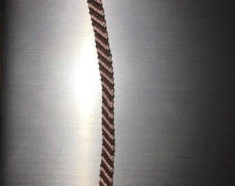 CUSTOM Diagonal Stripe Bracelet