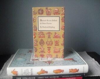 "Vintage Rudyard Kipling book ""Barrack-Room Ballads"""