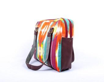Laptop Handbag, The Broad Brush Stroke Pattern, Laptop Bag, Laptop Bag Women, Laptop Bag for Women, Macbook Bag, Vegan Bag, Fabric Bag
