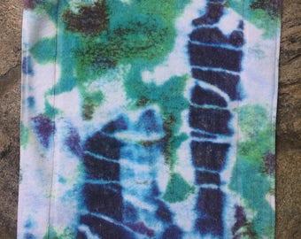 Fresco Towels - Tie Dye White - Small Bath Mat