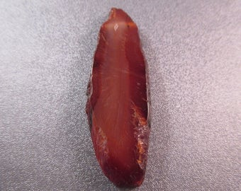 Agate Top Side Drilled Sliced Pendant Bead 1pc
