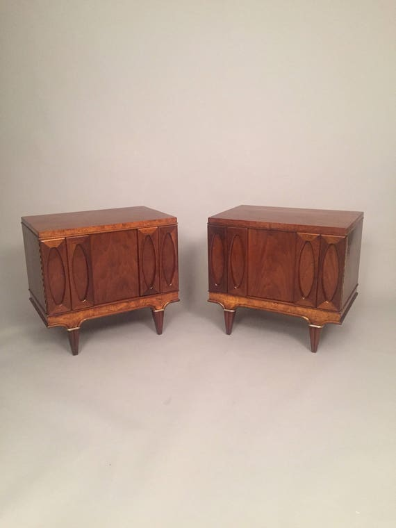 Pair Mid-Century night stands Martinsville