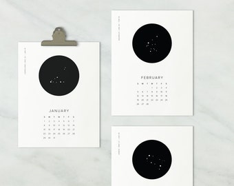 2017 constellation calendar