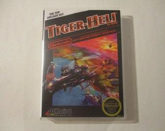 Tiger Heli - NES Custom Case (NO GAME