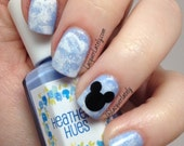Mickey Mouse Head Nail Vinyl Fingernail Art Stencils