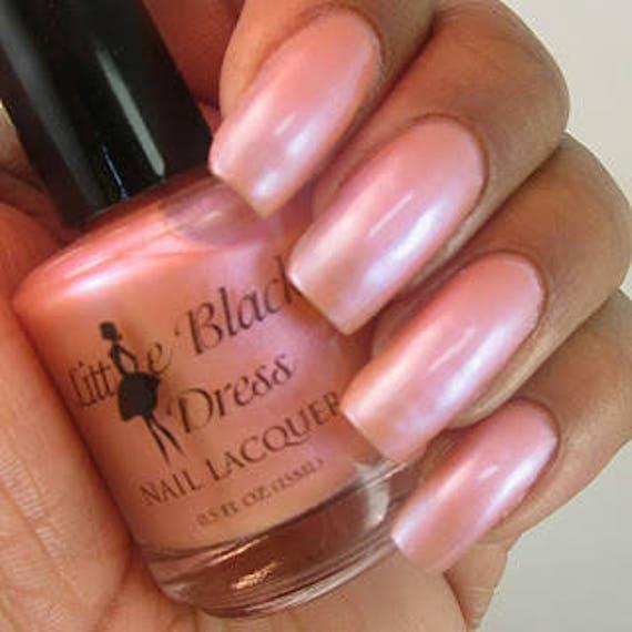 CREAMSICLE Orange/pink Iridescent Polish