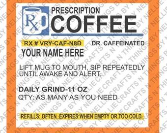 Prescription Coffee SVG