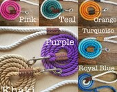 Custom Ombre Rope Dog Leashes (MADE TO ORDER)
