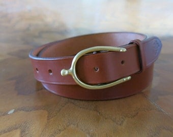 Spur Buckle Belt/Parisian Buckle