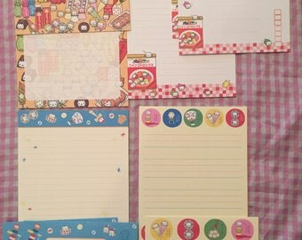 Lot of San-X Nyan Nyanko letter memo pads & envelopes RARE