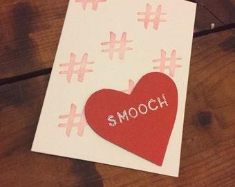 Smooch card