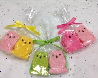 30Pcs Party Favor chocolate Búho  two for Bag