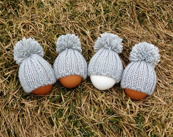 Knit egg warmers easter egg cozy spring wedding favors breakfast table decor easter ornaments dinnerware set egg hats easter party favors