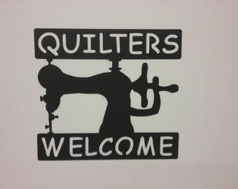 Quilters Welcome