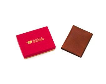 Bosca Old Leather Bifold Cognac Wallet