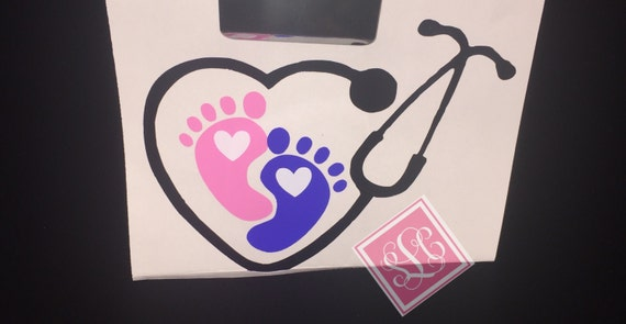 Labor and delivery decal*nurse decal