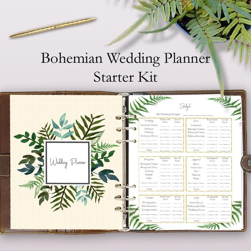 wedding planning journal wedding planner notebook journal. Black Bedroom Furniture Sets. Home Design Ideas