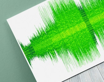Blink 182 - Whats My Age Again - 24x8 Canvas, Poster or Digital Image - Free P&P, Sound Wave Art, Audio Art