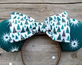 Vintage Christmas Tree Mouse Ears