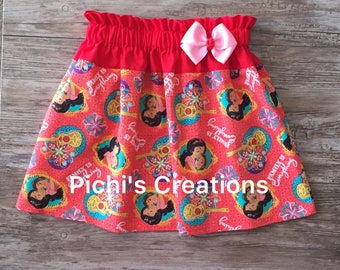 Elena Skirt, Elena of Avalor Skirt, Elena and Isabel Skirt, Princess Elena Skirt