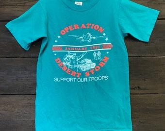 1991 Operation Desert Storm Tee Shirt
