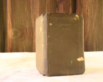 1941 New Testament Pocket Bible - For WWII Troops - Free Shipping