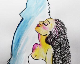 Wolf spirit by Artist Keely Nocifora