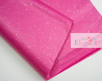 Tissue paper l Cerise Gemstone Tissue paper l Gift Wraping l DIY