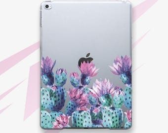iPad Case Cactus iPad Air 2 Case Spring iPad Mini 2 Case Floral iPad Mini 4 Case iPad Pro 9.7 Case Succulent iPad Pro 12.9 Hard Case i0013