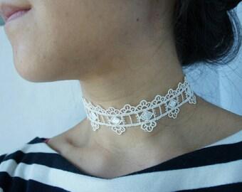 Lace Choker Necklace / Women jewelry / Choker / Necklace / Bridal / Wedding