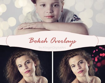 Bokeh Overlays , Overlays for Photoshop ,Professional Photo Editing for Portraits, Newborns, Weddings , Photo Overlay, JPEG