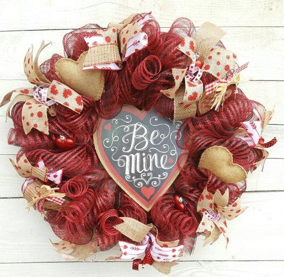 Be Mine Wreath