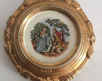 French Wall Decor, French Rendevouz Wall Hanging