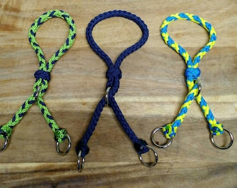Paracord War Bridle with Added Ring