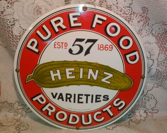Heinz 57 pure food products
