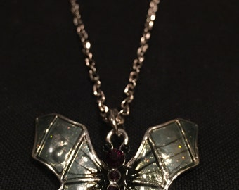 Gothic Butterfly Necklace