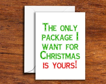 Holidays - Christmas - The Only Package I Want This Christmas Is Yours!